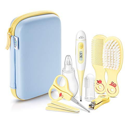 Philips Avent SCH400/00 Trousse complète de soin pour bébé, 8 accessoires