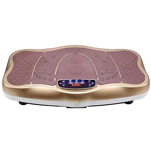 Plataformas vibratorias Vibration Plate Fitness Trainers, 3D Slim Vibrating Power Machine, con control remoto, música Bluetooth, ajuste de velocidad 1-99, para pérdida de peso y tonificación corporal