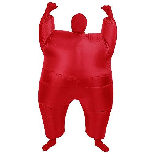 AltSkin Mega Suit Inflatable Zentai Costume Red