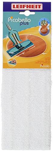 Leifheit Wischpad Picobello, S super soft für hochempfindliche Böden, Leifheit Wischbezug mit spezieller Faserzusammensetzung, 27 cm breiter Wischbezug