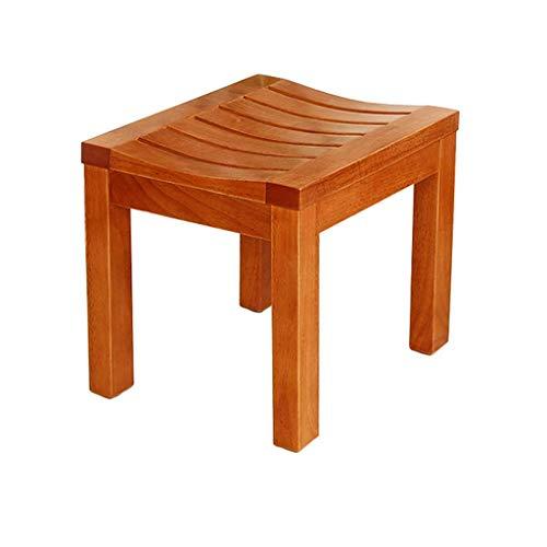 Z-SEAT Badewannensitz Easy Clean Duschhocker Rutschfester Duschstuhl aus Holz Senioren Badezimmersitz Schwangere Badebank Behinderte Duschhilfe, max. 220 lbs Behinderungshilfe
