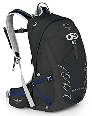 Osprey Packs Tempest 20 Women's Hiking Backpack, Black, Wxs/S, X-Small/Small