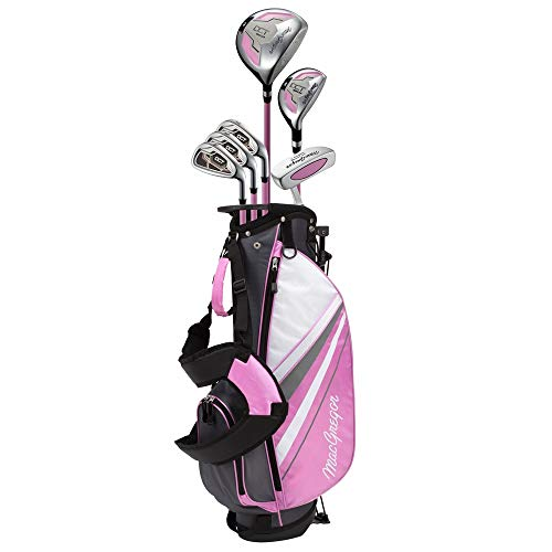 MACGREGOR Golf DCT Junior Girl Golf Clubs Set with Bag, Right Hand Ages 9-12