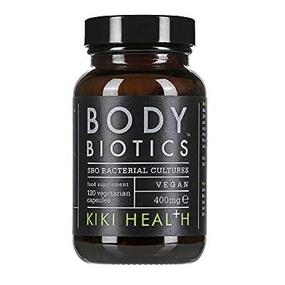 KIKI Health Body Biotics SBO Probiotic Formula - 120 x 400mg Vegetarian Capsules from KIKI Health