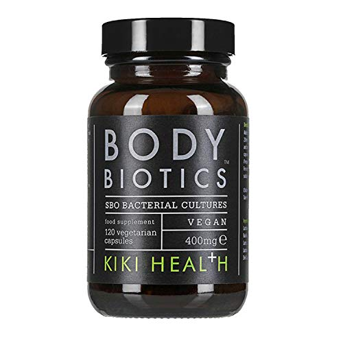 KIKI Health Body Biotics, Soil Based Organisms Supplement, SBO Bacterial Cultures, 120 Capsules