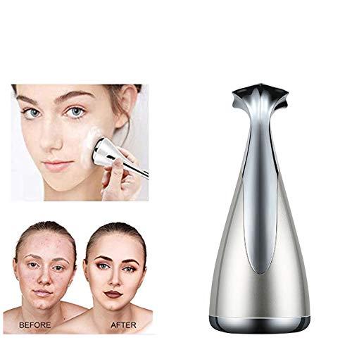 DSGG Masseur Facial Micro De Vibration Magnétique,Induction Micro Instrument Actuel Visage Massage Facial Magnétique Instrument Petit Haltère Gyro Appareil De Beauté