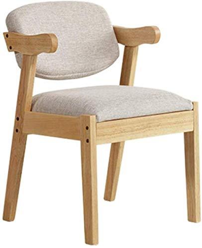 LF- Sedia in legno massello Semplice sala da pranzo sedia sgabello sedia a casa ufficio sedia trucco sedia sedia in legno Ristorante Confortevole