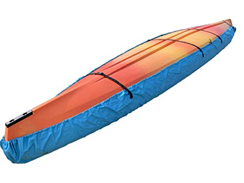 "Hydra Creek Kayak Cover, with Tightening Straps, Adjustable (6' 6"" - 9' 10"")"
