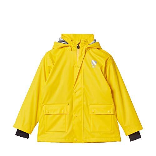 Steiff Jungen Raincoat Regenjacke, Gelb (Lemon Chrome 2002), (Herstellergröße: 92)
