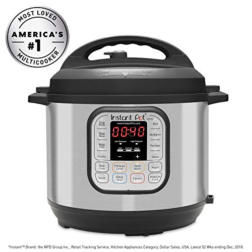 Instant Pot DU060 6Qt 7-in-1 Multi-Use Programmable Pressure Cooker