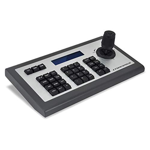 Network PTZ Keyboard Controller 4D Joystick PTZ Controller ONVIF IP PTZ Camera Controller with LCD Display