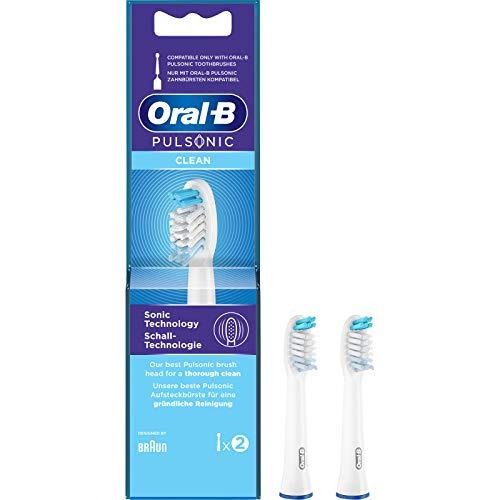 Oral-B Pulsonic Clean - Cabezales para cepillo de dientes (2 unidades)