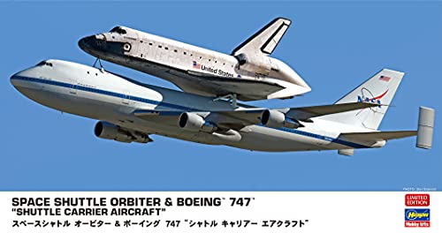 ハセガワ 1/200 スペースシャトル オービター&ボーイング747 シャトルキャリアー エアクラフト プラモデル ...