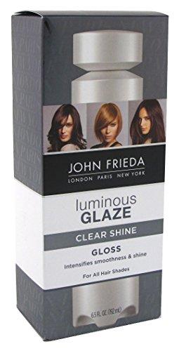 John Frieda Luminous Glaze Clear Shine Gloss 6.5 Ounce (192ml) (3 Pack)