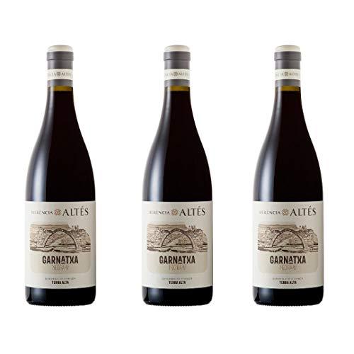 Herència Altés Vino Tinto - 3 botellas x 750ml - total: 2250 ml