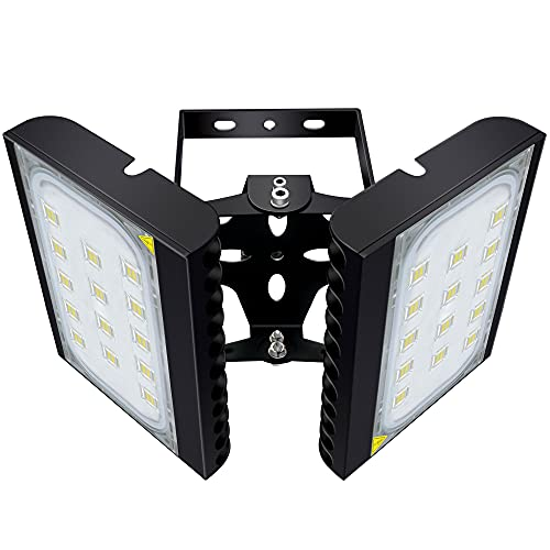STASUN 18000lm Dusk to Dawn Outdoor Lighting, 200W LED Flood Light with Photocell, 6000K, OSRAM LED Chips, IP66 Waterproof Wide Lighting Angle Security Area Lights for Yard, Playground, Parking Lot
