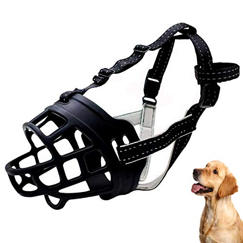 LTDD Silicone Dog Muzzles, Gentle Breathable, Muzzle Basket, for Anti-Barking and Anti-Chewing, Best for Aggressive Dogs.1