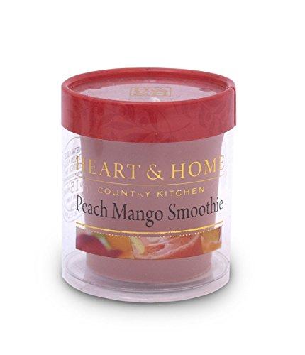 Heart & Home Votiv Peach Mang Smoothie Bougie parfumée 53 g