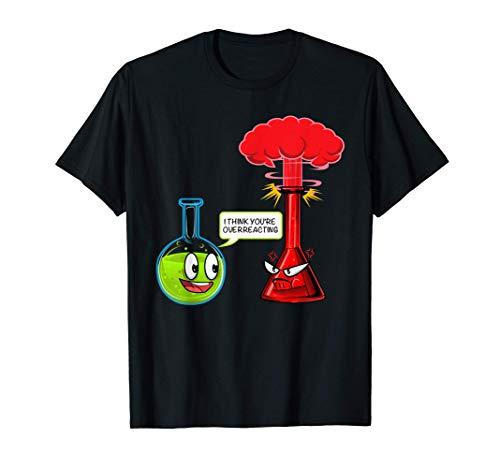 Camiseta de reacción química - Camiseta ciencia química Camiseta