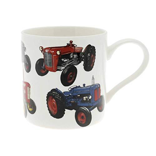 Lesser & Pavey Classic Traktor Tasse aus feinem Porzellan, mehrfarbig, 12 x 8 x 9 cm