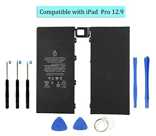 DDS-DUDES - Batería de repuesto interna de 10307 mAh compatible con Tablet iPad Pro 12.9 A1577, A1584, A1652 (con kit de herramientas de reparación)