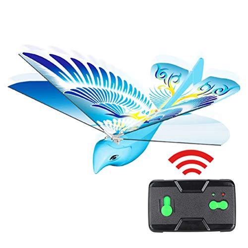 BST&BAO Mini Drohne Vogelform, Elektronische Fernbedienung Vogel Spielzeug mit LED Leuchten für Jungen Mädchen Outdoor Flugzeuge Geschenke