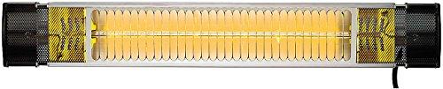 Semptec Infarot Heizstrahler: Infrarot-Außen-Heizstrahler IRW-2500 mit Goldröhre, 2.500 Watt, IP65 (IR Heizstrahler)