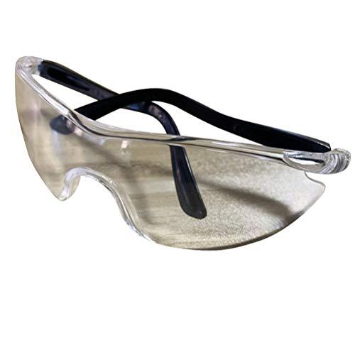 Garneck 10 Stück Schutzbrille Brille Persönliche Schutzausrüstung Klar Beschlagfrei Spritzwassergeschützt Schlagfestigkeit für Arbeiten im Freien