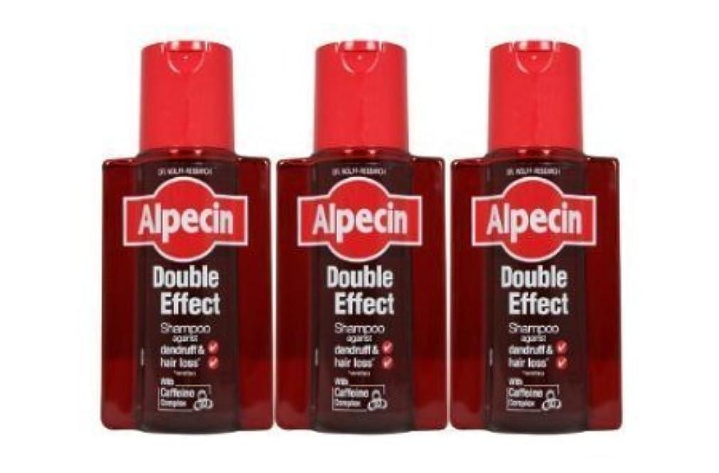 シリーズ見込み議会3 x Alpecin Double Effect Shampoo by alpecin [並行輸入品]