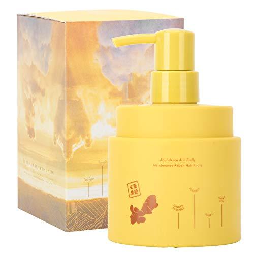 Champú anticaída para el tratamiento del cabello, champú de hierbas naturales para cabello debilitado, champú para el crecimiento del cabello con jengibre que reduce eficazmente la caída del cabello y