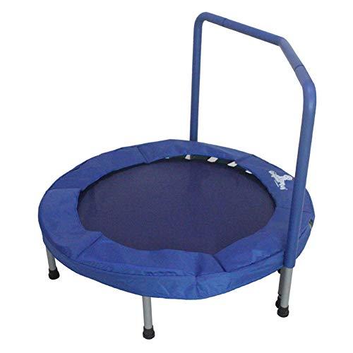 COCOA Trampolín para niños con reposabrazos, trampolín Plegable, trampolín para Interiores y Exteriores.