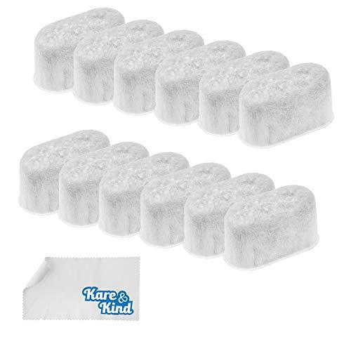 Kare & Kind 12 Stück Aktivkohle-Wasserfilterkapseln als Ersatz für KitchenAid KCM11WF - Kompatibel mit KitchenAid Kaffeemaschinen der Modelle KCM111, KCM112 und KCM1202.