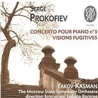 Piano Concerto No. 3, Visions Fugitives (Leducq-Barome) by Sergey Prokofiev (2002-03-04)