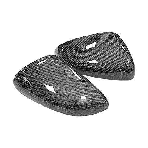 CJWY 2 Piezas para G-olf MK6 R20 para T-Ouran para G-olf para G-TI 6 para G-olf 6 R para C-ctapas De Cubierta De Espejo De Fibra De Carbono