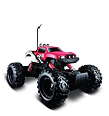 Two motors and low gearing make for rugged off-road action Articulated front and rear suspension 6AA for the vehicle (Not included) and 2 AAA (Not included) for the controller Tri-Channel Transmitter, Go off-road today TPE tires for ultra grip