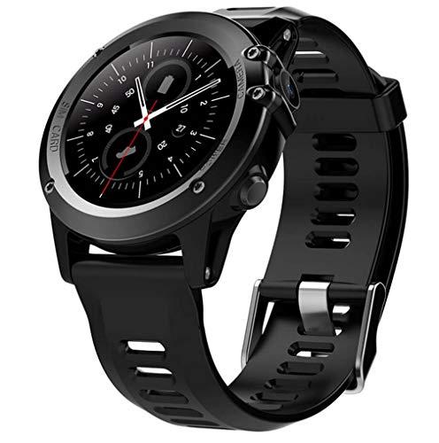 ELEGENCE-Z Smart Watch, bluetooth 4.0 ronde smartwatch synchronisatie oproepmeldingen voor Android Google mannen vrouwen zwart