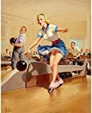 Art Frahm Pinup Girl Spare 1952 p7476 A2 Canvas - Art Painting Decor Wall Gif...