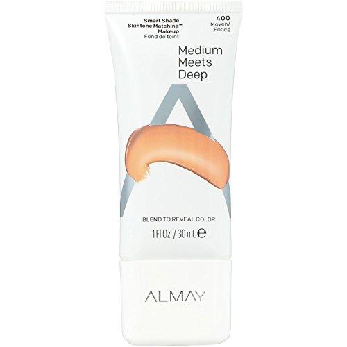 Almay Smart Shade Skintone Matching Makeup, Hypoallergenic, Cruelty Free