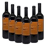 Vino tinto Petit Blei 2018 - DOQ Priorat - Pack de vino 6 botellas - Crianza 6 meses, Selección vins&co barcelona 750 ml
