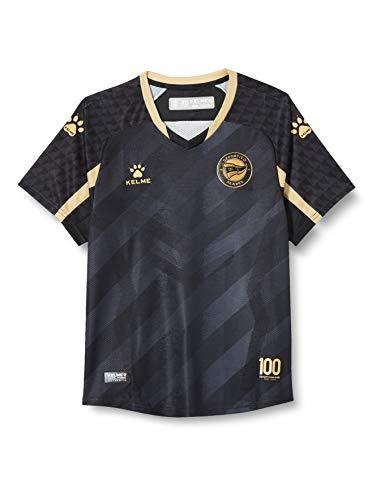 DEPORTIVO ALAVÉS Equipación 3ª Camiseta De Juego 20/21, Unisex niños, Negro, 14 (Años)