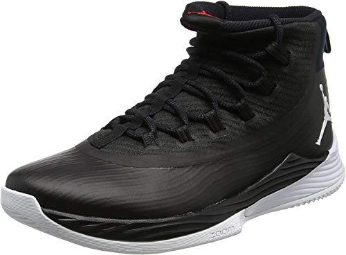 Nike Nike Herren Jordan Ultra Fly 2 Basketballschuhe, Schwarz (Black/white/university Red), 45 EU