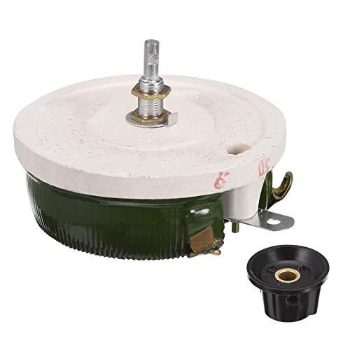 uxcell Wirewound Ceramic Potentiometer Variable Rheostat Resistor 150W 30R Ohm with Knob