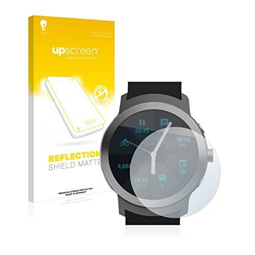 upscreen Entspiegelungs-Schutzfolie kompatibel mit LG Watch Sport – Anti-Reflex Bildschirmschutz-Folie Matt