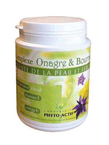 PHYTO ACTIF - Complexe Onagre bourrache 180 Cps