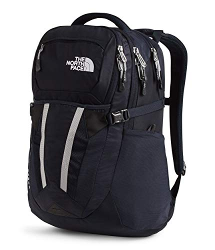 The North Face Recon Laptop Backpack, Aviator Navy/Meld Grey, One Size