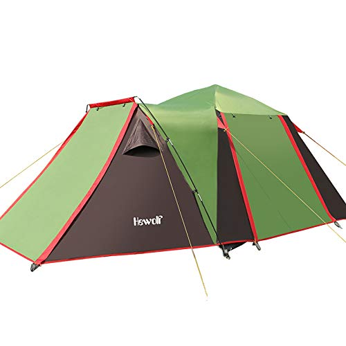 Waterproof Automatic 2 Room Tent Instant Family Tent Large Space Tent for Camping Waterproof Outdoor Tents Picnic Beach Tent