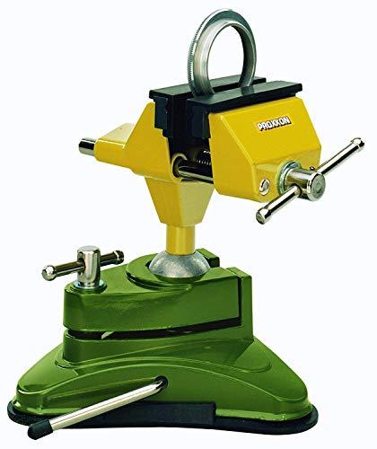 Proxxon 28602 Feinmechaniker Schraubstock FMS 75, grün/gelb/silber/schwarz