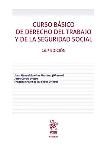 Curso Básico De Derecho Del Trabajo y De La Seguridad Social 16ª Edición 2020 (Manuales de Derecho del Trabajo y Seguridad Social)