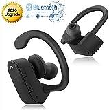 [Último Modelo 2020]Auriculares Bluetooth Intrauditivos, CVC6.0 Estéreo Auriculares Inalámbricos Bluetooth IPX5 Impermeable Auriculares Bluetooth 5.0 con Mic Reducción Ruido para iOS Android Apple