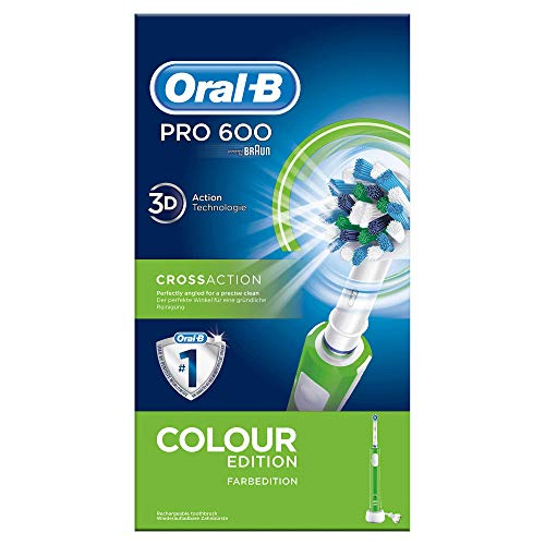 Cepillo dental Braun PRO600 Verde Cross Action